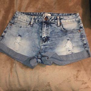 Forever21 Premium Denim Jean Shorts